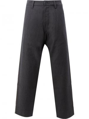 Широкие брюки Ziggy Chen. Цвет: синий