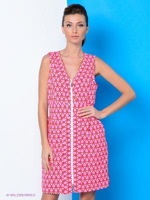 Платье River Woods. Цвет: розовый