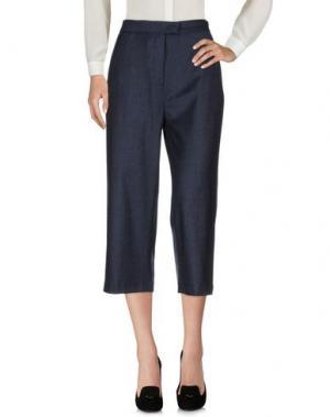 Повседневные брюки TERESA DAINELLI. Цвет: темно-синий
