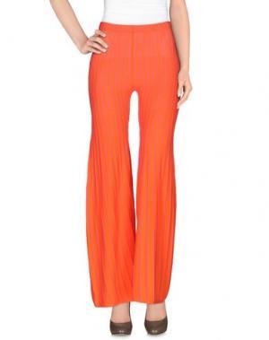 Повседневные брюки NEERA. Цвет: оранжевый
