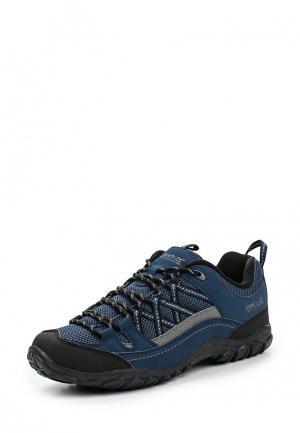 Ботинки трекинговые Regatta. Цвет: синий