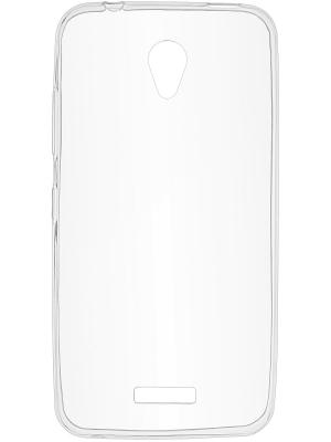 Накладка для Lenovo Vibe B skinBOX. Цвет: прозрачный