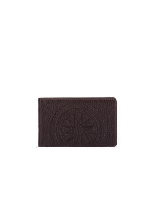 Визитница карманная FABULA. Цвет: коричневый