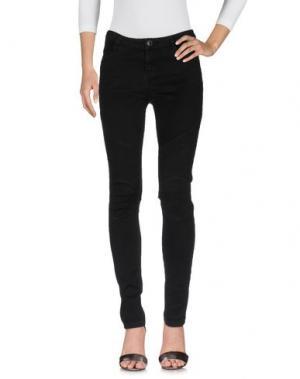 Джинсовые брюки SUBLEVEL. Цвет: черный