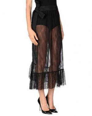 Длинная юбка TILL.DA. Цвет: черный