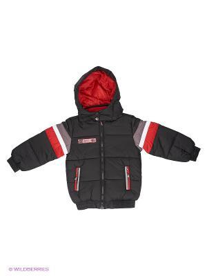 Куртка PlayToday. Цвет: черный
