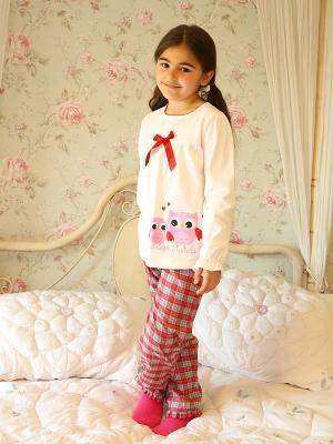 Пижама WonderKids. Цвет: белый, красный