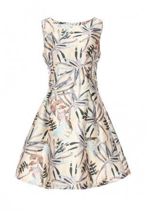 Платье Sweet Miss. Цвет: бежевый