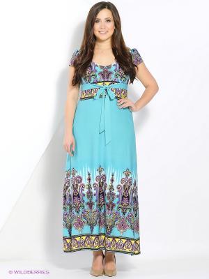 Платье голубое Glam Goddess