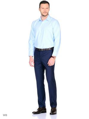 Рубашка Conti Uomo. Цвет: голубой
