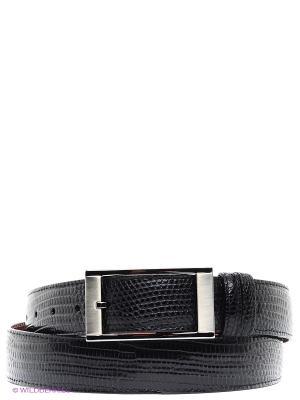 Pемень Pan American leather. Цвет: черный