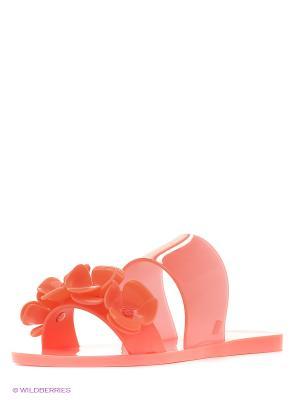 Пантолеты Melissa. Цвет: красный