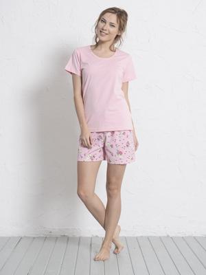 Домашний костюм Vienetta Secret. Цвет: розовый