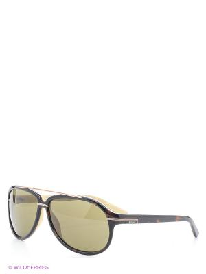 Солнцезащитные очки RE 354S 56J Replay. Цвет: темно-коричневый, молочный