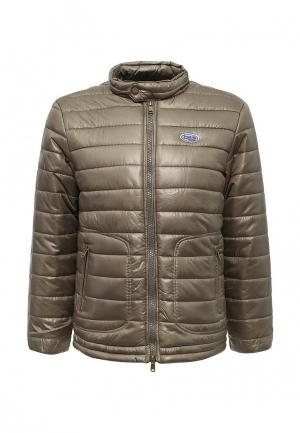 Куртка утепленная Frank NY. Цвет: зеленый