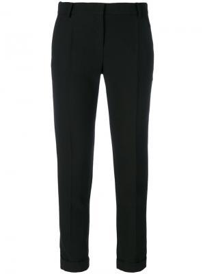 Укороченные брюки Cady Carven. Цвет: чёрный