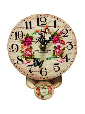 Часы настенные ArteNuevo. Цвет: бежевый