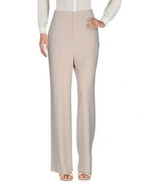 Повседневные брюки DAMIR DOMA. Цвет: бежевый