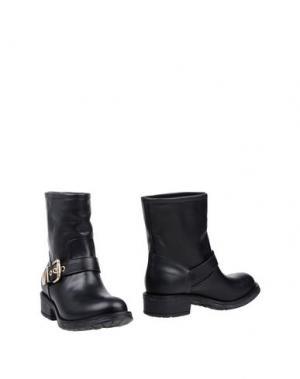 Полусапоги и высокие ботинки LUCIANO PADOVAN. Цвет: черный