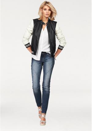 Куртка Laura Scott. Цвет: черный/белый