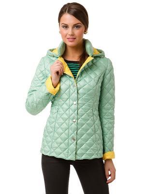 Куртка Clasna. Цвет: светло-зеленый