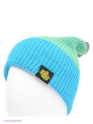 Шапка Ensis. Цвет: синий, зеленый, темно-серый