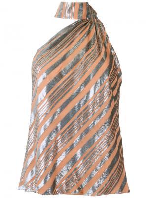 Striped blouse Giuliana Romanno. Цвет: none