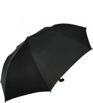 Складной зонт с куполом черного цвета Doppler. Цвет: черный