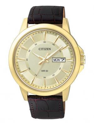 Часы BF2013-05PE CITIZEN. Цвет: черный, золотистый