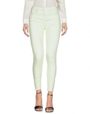 Повседневные брюки EDWIN. Цвет: светло-зеленый