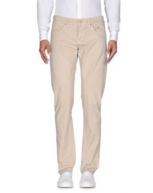 Повседневные брюки SIVIGLIA. Цвет: светло-серый