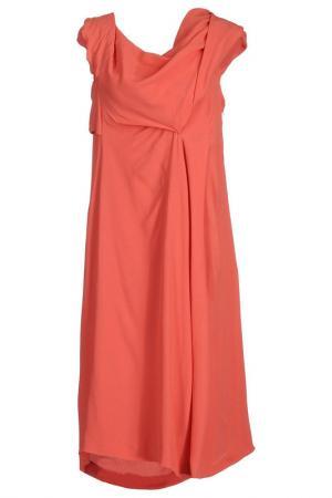 Платье Jil Sander. Цвет: красный