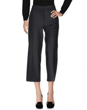 Повседневные брюки BEATRICE. B. Цвет: стальной серый