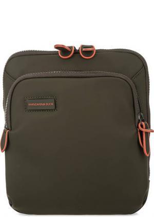 Маленькая сумка через плечо Mandarina Duck. Цвет: хаки