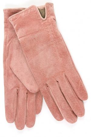 Перчатки Dali Exclusive. Цвет: розовый