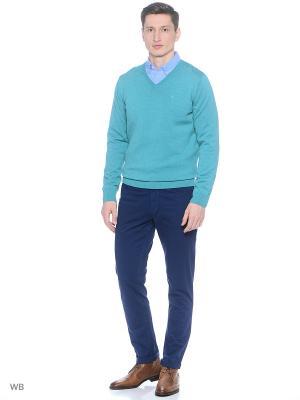 Пуловер TOM TAILOR. Цвет: зеленый, серый меланж