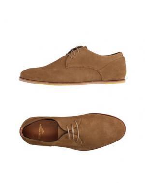 Обувь на шнурках ROYAL REPUBLIQ. Цвет: верблюжий