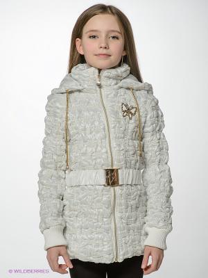 Куртка MES AMI. Цвет: белый