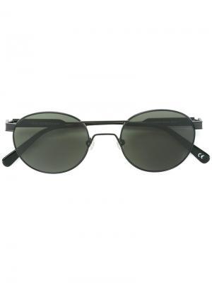 Солнцезащитные очки с оправой кошачий глаз Han Kjøbenhavn. Цвет: чёрный