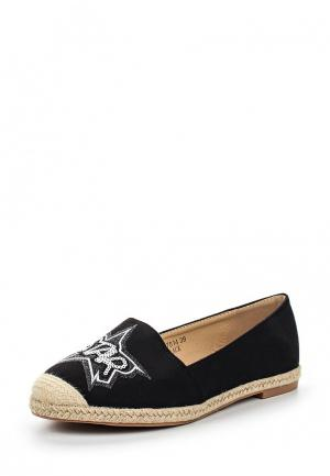 Эспадрильи Sweet Shoes. Цвет: черный