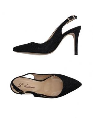Туфли L'ARIANNA. Цвет: черный