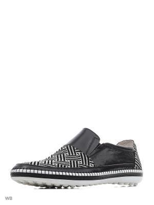 Туфли Companion. Цвет: черный, белый