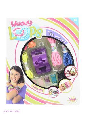 Н-р д/плетения брасл Splash Toys. Цвет: белый, голубой, зеленый, розовый