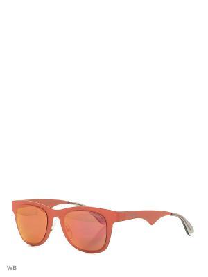 Солнцезащитные очки CARRERA 6000MT ABV. Цвет: коралловый