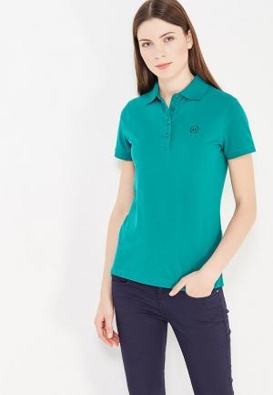 Поло Armani Exchange. Цвет: зеленый