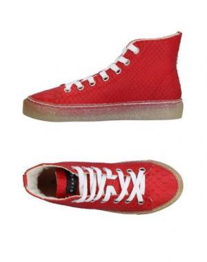 Высокие кеды и кроссовки GIENCHI. Цвет: красный