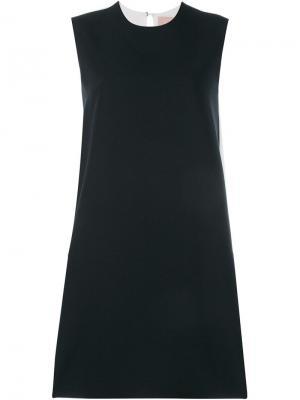 Плиссированное платье без рукавов Roksanda. Цвет: чёрный