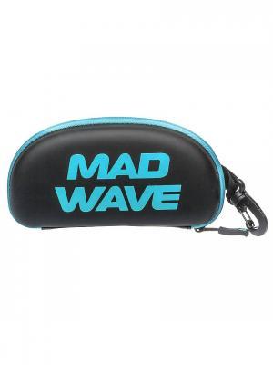 Футляр для очков Mad Wave. Цвет: черный, голубой