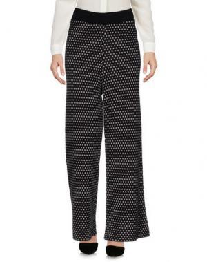 Повседневные брюки SIYU. Цвет: черный