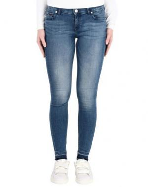 Джинсовые брюки TOMMY JEANS. Цвет: синий